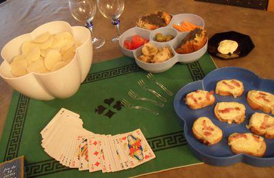 Soirée cartes avec mon saladier de chez cookut.
