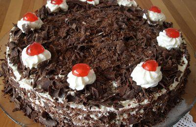 Gâteau Forêt-Noir