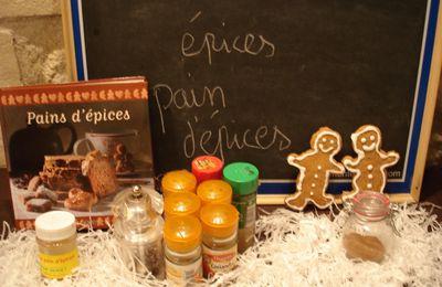 Epices pour pain d'épices, mélange de 9 épices