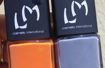 Vernis LM cosmétic collection mat