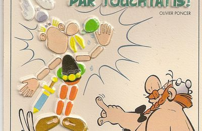 Cartes postales Asterix en braille (Chardon bleu, Albert-rené, 1988)