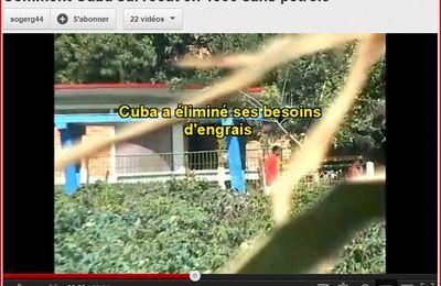 Cuba a survécu sans pétrole