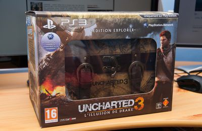 Déballage Uncharted 3 Explorer Edition