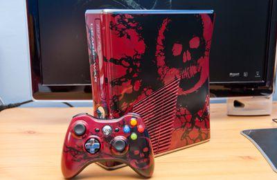 Arrivée Xbox 360 Gears of War 3 edition