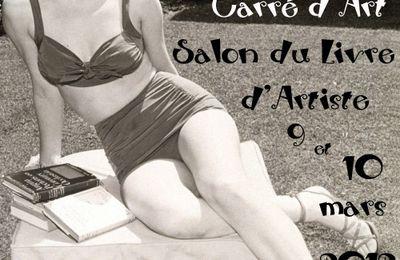 Salon du livre d'artiste Carré d'Art Nîmes 2012