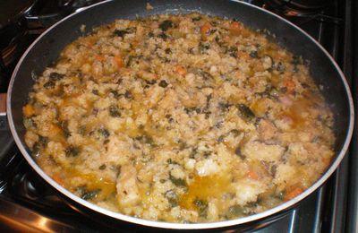La ribollita.....soupe typique de la cuisine toscane......