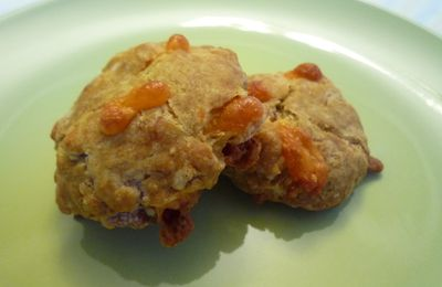 Biscuits au bacon et au cheddar - Bacon and cheddar biscuits