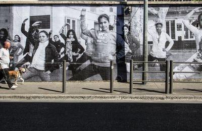 J.R. : STREET ART À LA BELLE DE MAI, MARSEILLE