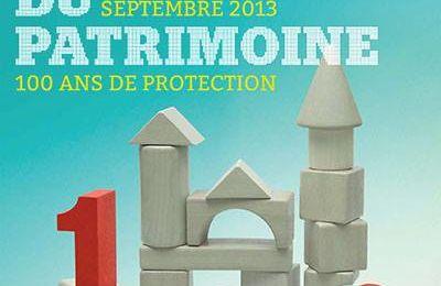 JOURNÉES DU PATRIMOINE 2013