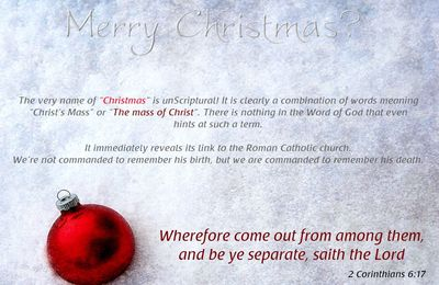 Paganism and Christmas: The Great Confusion