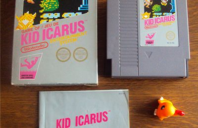 Wanted dead or alive the Kid .... Kid Icarus NES