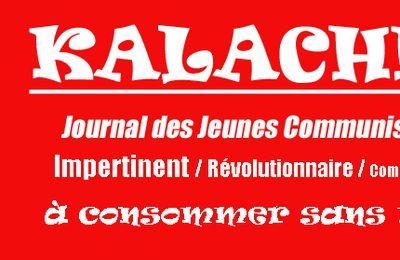 Kalachnikov, le journal des jeunes communistes du Pas-de-Calais est arrivé