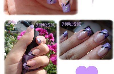 French en V violette !