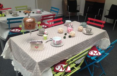 Tea time aux éditions Milady