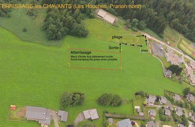 Info Attéro des Chavants - Panneau Bois du Bouchet - Zones réglementées Mont-Blanc