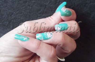 Nail Art Summer Time