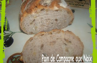 oOo- Pain de Campagne aux Noix -oOo