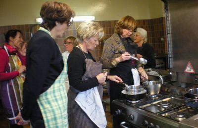 Pastilla au chocolat, jus au caramel - Atelier cuisine I. AUGUY 4