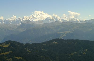 Survol du Mt blanc