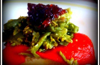 Revuelto de espárragos verdes Y maneras de comerlo