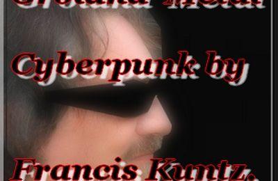 Francis Kuntz fait du rock-metal-cyberpunk !-Groland 2011