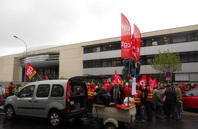 Manifestation pour la défense de l'emploi industriel et contre la ratification du traité budgétaire européen