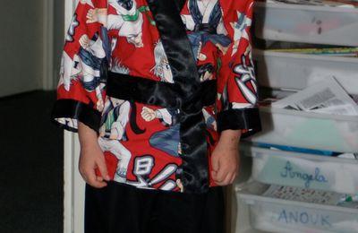 Un pyjama kimono de ninja!