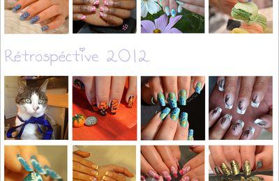 Nail art 2012 - Petite rétro'