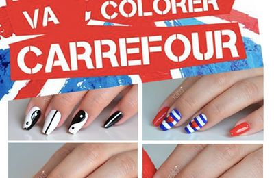 Nail art bus : Rimmel va colorer Carrefour
