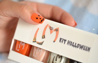 Nail art - Halloween 1 (Kit Lm Cosmetic)
