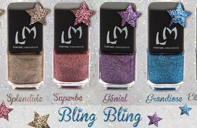 Lm Cosmetic - Collection Bling Bling & Flitters (Concours)