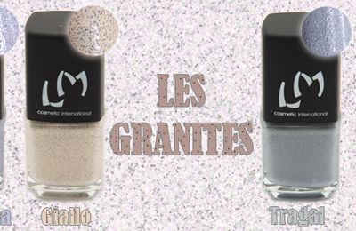 Nouvelle collection Lm Cosmetic : Les Granites (+Concours)