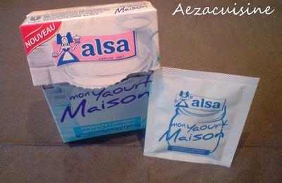 Nouveauté : ferment lactique de chez Alsa