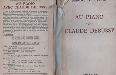 Claude Debussy -Marguerite Long-Piano