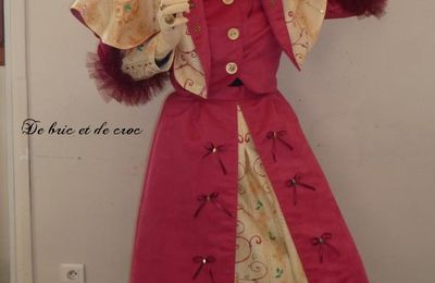 Robe pour Carnaval d'Annecy !