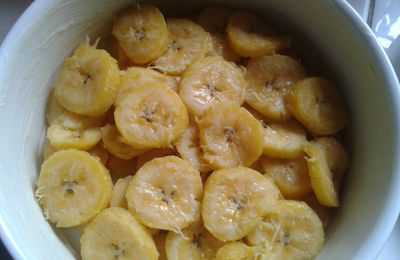 GRATIN DE BANANES PLAINTAIN
