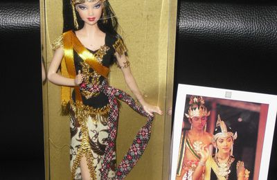 Barbie Javanese Dancer OOAK