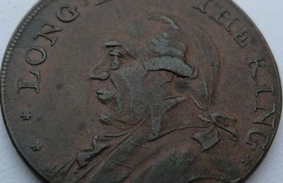 LONG LIVE THE KING - Half Penny 1795