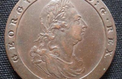 CARTWHEEL ILE DE MAN 1798 PENNY