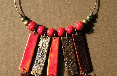 Bronze, cuir, vitrail...