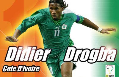 Didier Drogba et Yaya Touré nommés pour le Ballon d'Or 2013