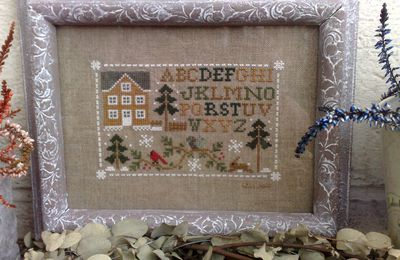 Woodlang Sampling Little House Needleworks