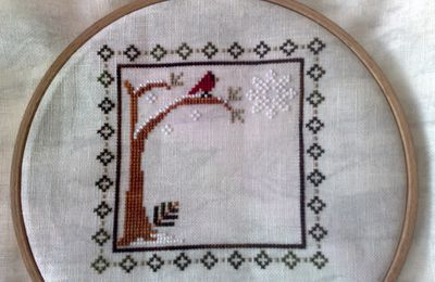 Sampler Months Little House Needleworks january...
