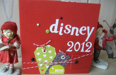 Mini album Disney 2012 ....
