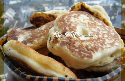 Blinis légers à la garniture gourmande