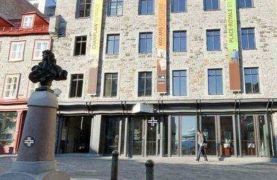 Exposition du Musée de la civilisation : La Place Royale