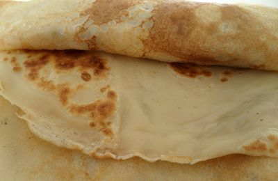 CREPES LEGERES AU RHUM
