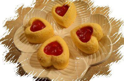 Coeurs de chou fleur au parmesan