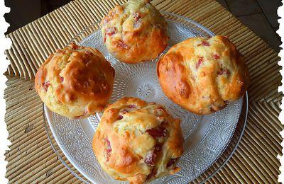 Muffins oignon et bacon