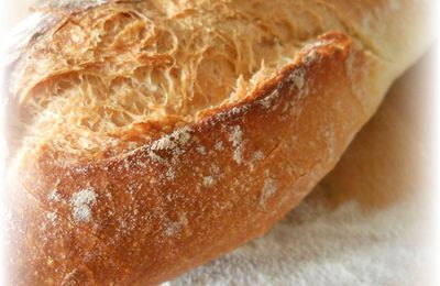 Pain de Campagne sur Poolish version Baguettes